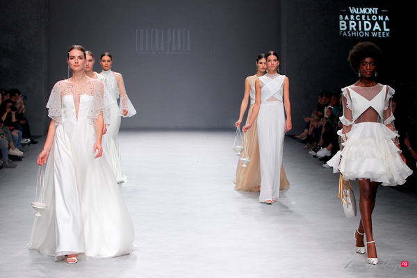 Lorena Panea at the Valmont Barcelona Bridal Fashion Week 2019 | #VBBFW19
