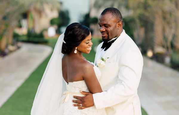 Naj & Alphonse's destination wedding in Dubai was perfect | Save the Date