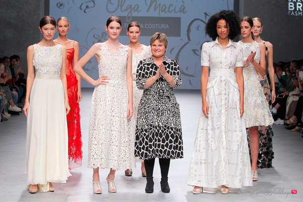 Olga Macia at the Valmont Barcelona Bridal Fashion Week 2019 | #VBBFW19