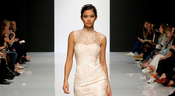 Peony Rice at London Bridal Fashion Week 2019
