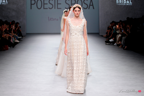 Poesie Sposa at the Valmont Barcelona Bridal Fashion Week 2019 | #VBBFW19