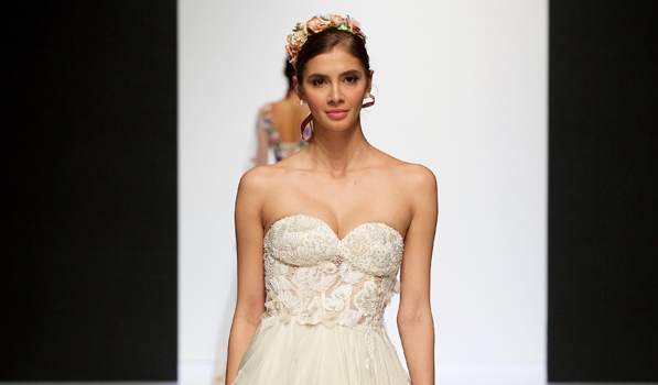 Victoria Sanders  at London Bridal Fashion Week 2019 | #LBFW2019