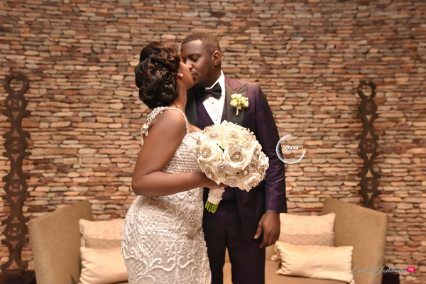 John & Gifty Dumelo's Stunning Outdoor Wedding Photos
