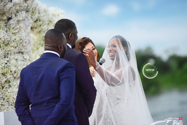 Gifty's wedding vows to John will make you smile | #ForeverDumelo