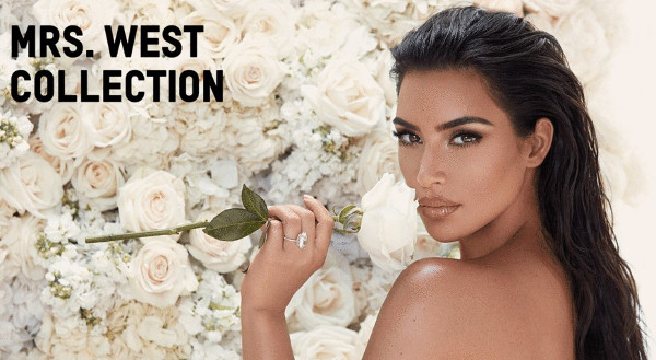 Kim Kardashian launches Mrs West bridal Makeup collection on her 5th wedding anniversary