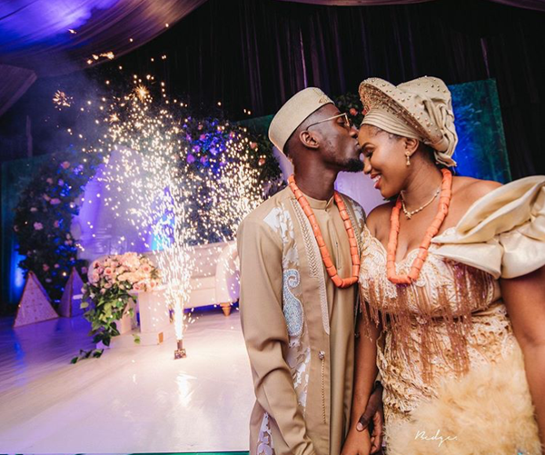 Super Eagles Footballer, Wilfred Ndidi & Chidinma's Traditional Wedding | #FortunateNdid19