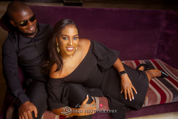Oge & Harry's co-ordinated pre-wedding pictures for #TheOHUnion2019