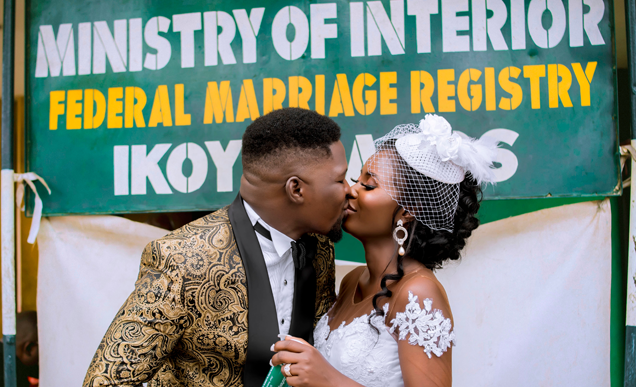 Kehinde & Busayo's Beautiful Nigerian Wedding