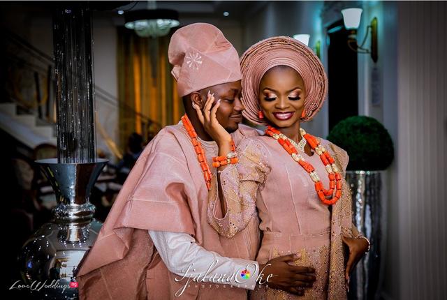 Olamide & Adekunle's #RRLoveStory Nigerian Wedding