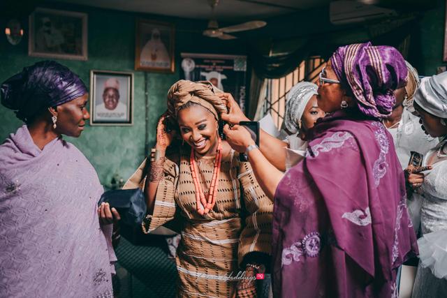 We love Bilkis' traditional bridal looks | #TheBMWedding