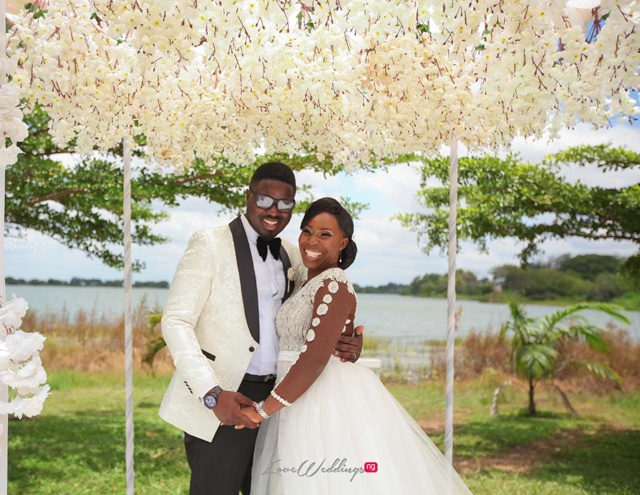 Nigerian DIY Bride, Bambi planned a destination wedding in Ilorin | #TheBAStory