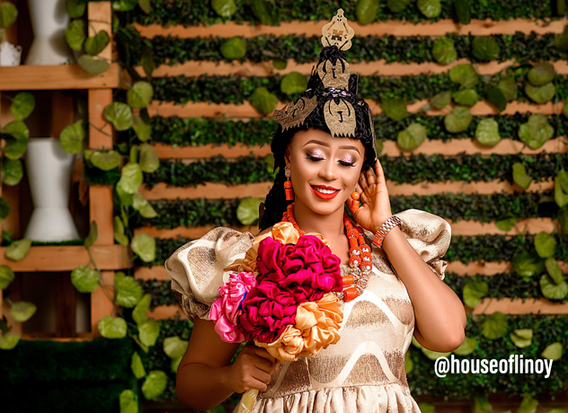 This Efik bridal look is giving us trad goals!