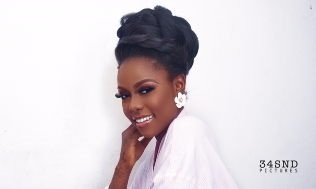 This melanin bridal look will make your Tuesday