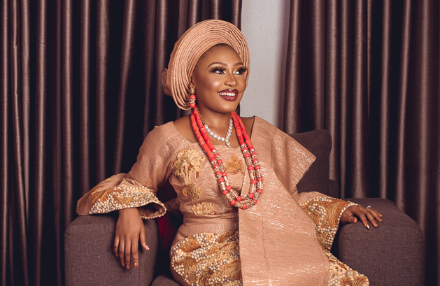 The Yoruba Traditional Bride in all her glory