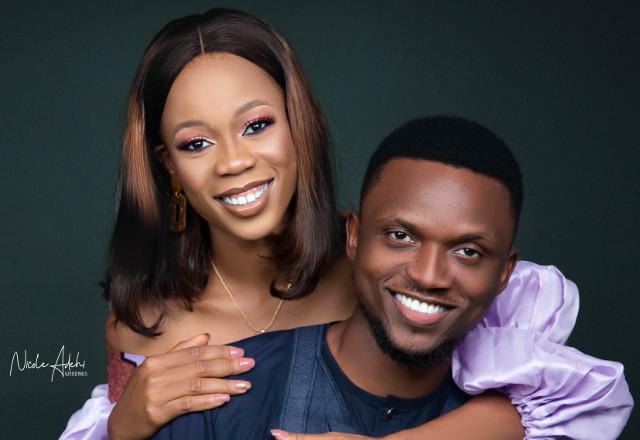 Idongesit & David's prewedding photos are all shades of cute