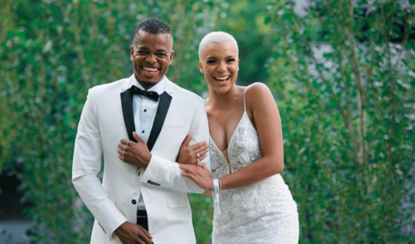 All the aisle worthy looks we loved from Somizi & Mohale's White Wedding in South Africa