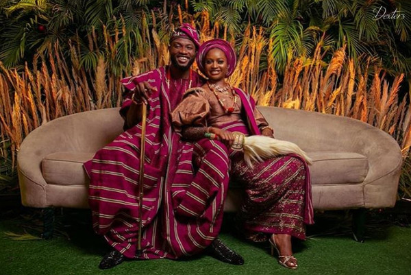 Anita Adetoye & Emmanuel Ikubese's Stunning Traditional Wedding | #RoadToBae