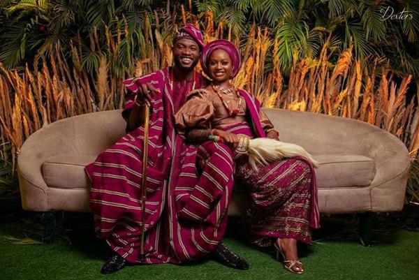 Anita Adetoye & Emmanuel Ikubese's Stunning Traditional Wedding | #RoadToBae