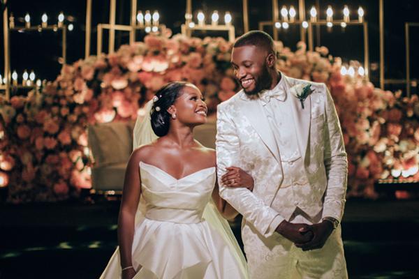 Anita Adetoye & Emmanuel Ikubese's Stunning White Wedding | #RoadToBae2020