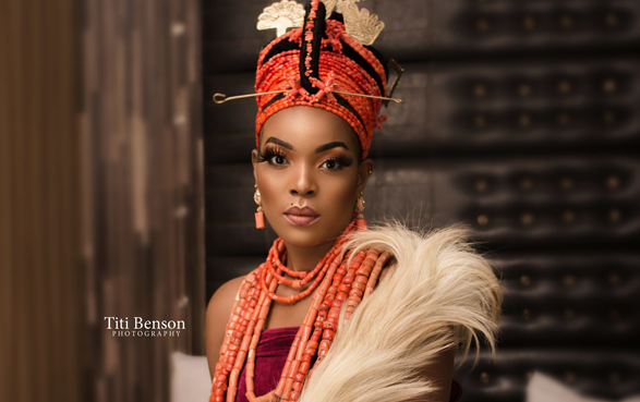 This Esan traditional bridal look is everything!