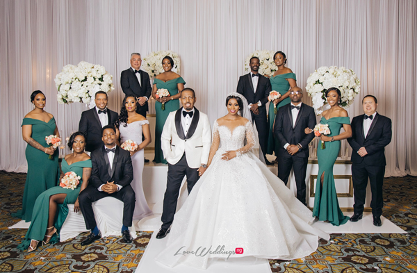 Ebere & Raphael's Royal Wedding in Houston