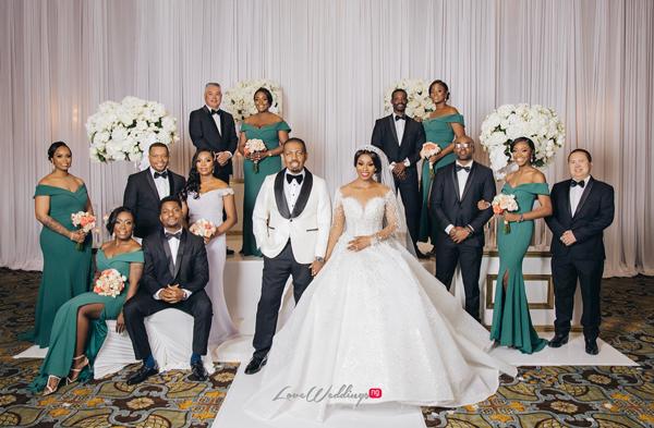 Ebere & Raphael's Royal Wedding in Houston