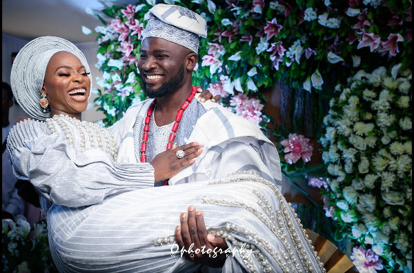 Relive moments from Tomike Adeoye's traditional wedding | #TheTTAffair