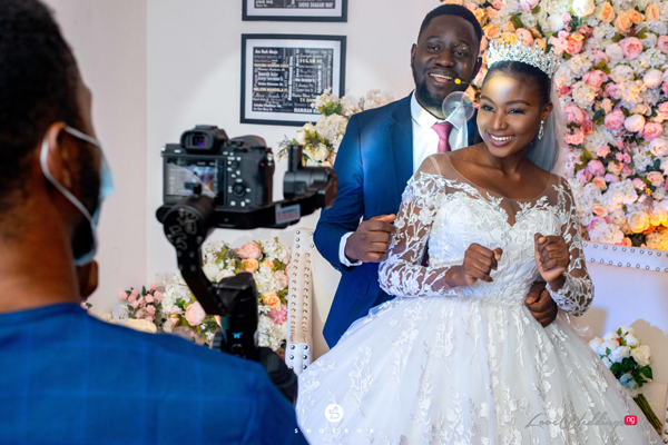 "An online ""Zoom"" wedding reception is totally possible in Nigeria!"