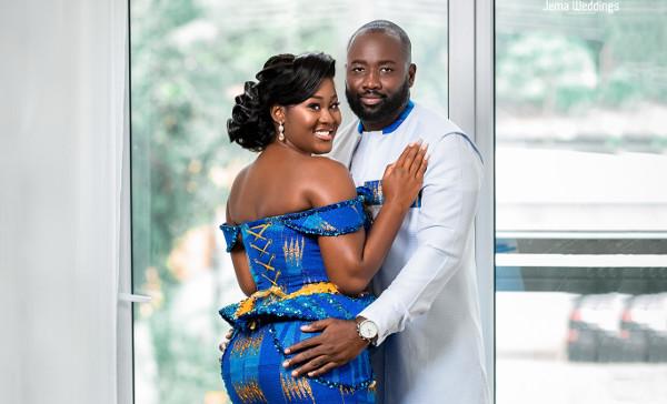 Anita & Kwame's beautiful Ghanaian wedding | #NKArolling2020