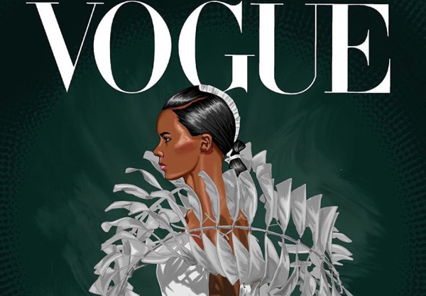 Our top 20 African Bridal & Wedding inspired #VogueChallenge covers