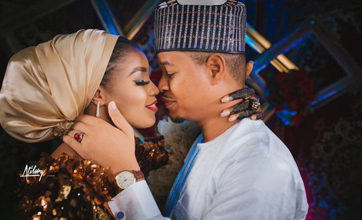 First photos from MC Tagwaye & Hauwa Uwais' wedding | #MCTagwaykulu2020