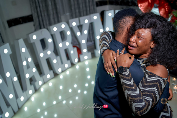 Ayomipo & Tobiloba's intimate surprise proposal | #ATLoveStory