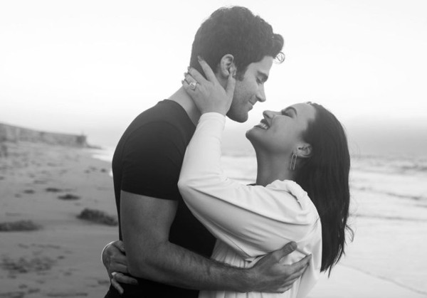 Demi Lovato is engaged,   Runtown & Aduta Akech Bior & more wedding news