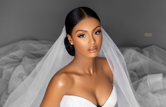 This bridal beauty shoot is flawless, effortless & elegant