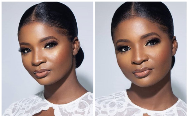 Bimpe Onakoya gave us clean bridal makeup goals with Ibilola's look