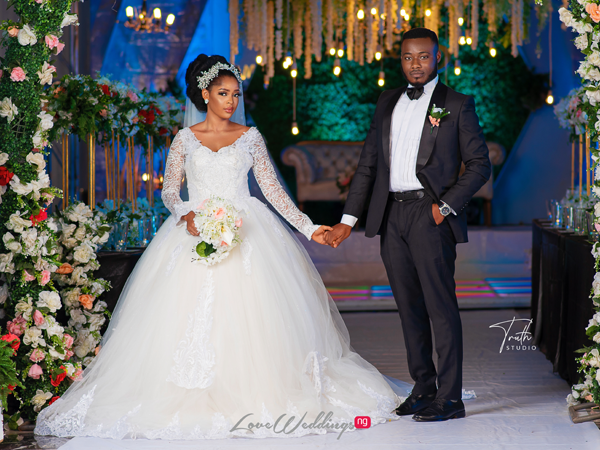 You can still have a grand & colorful Nigerian wedding