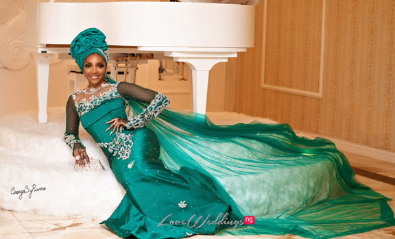 A Northern Bride in George fabric! The Kamu Collection will convince you