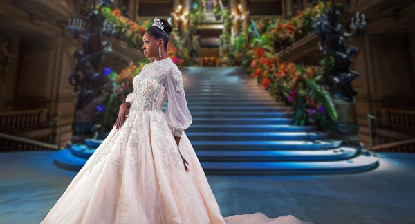 Kiki Okewale's debut bridal collection will take you to Lala Land