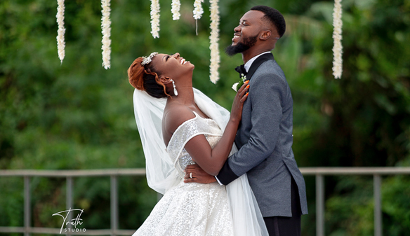 A beautiful garden wedding in Ibadan | #TheKEZAUnion