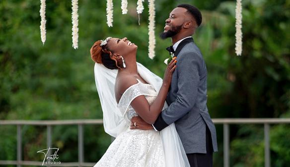 A beautiful garden wedding in Ibadan | #TheKEZAUnion