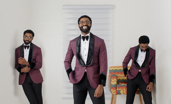 KochHouse's new collection, Kwechiri has Ric Hassani dripping like a groom