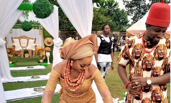 Banky W's brother, Funmi Wellington is engaged,  Basketmouth's 10th wedding anniversary & more