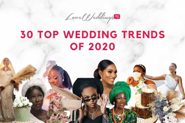 30 wedding trends of 2020 featuring Zoom weddings, the year of civil weddings &  more