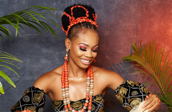 You need to see this Igbo traditional bridal look