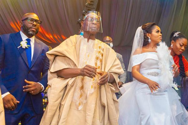 OBJ's son weds, a Presidential wedding, The Saraki's are 29 & more news