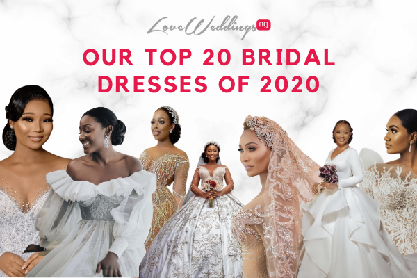 20 top wedding dresses from 2020