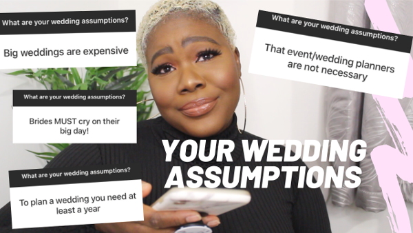 Wura Manola debunks all your wedding assumptions