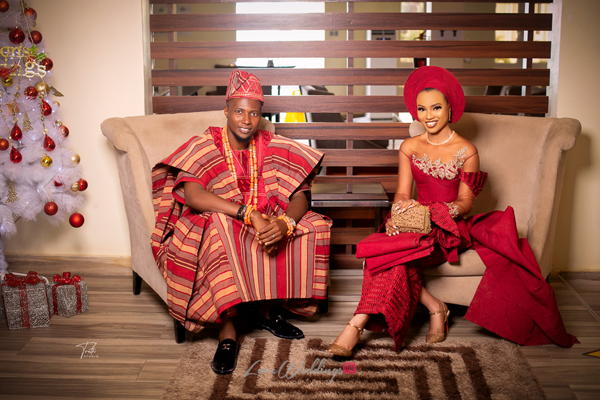 Ikeoluwa & Adetola's rustic Nigerian traditional wedding | #LovelikeMagik
