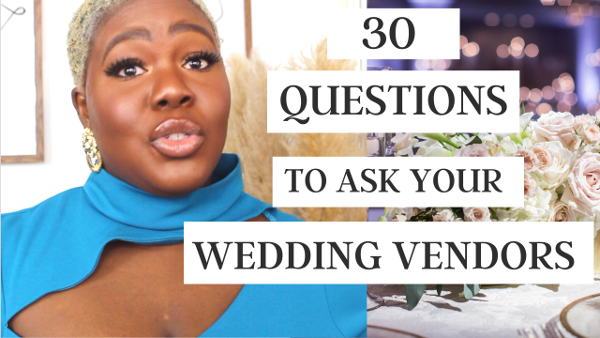 30 important questions to ask your wedding vendors – Wura Manola