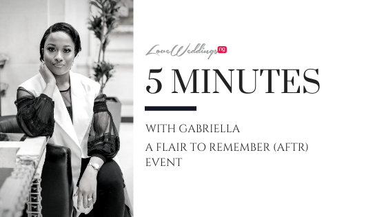 Luxurious, Creative & Timeless events, meet the lady behind AFTR Event